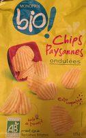 Chips paysannes ondulés - Product