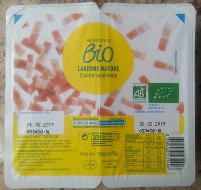 Lardons nature - Product - fr
