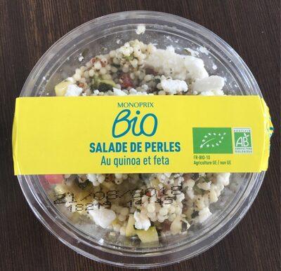 Salade de perles au quinoa feta - Product - fr