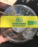 Salade quinoa olives falafels - Product - fr