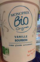 Glace vanille bourbon - Produit