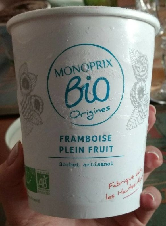 Framboise plein fruit - Produit