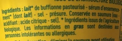 Monoprix bio billes - Ingredients