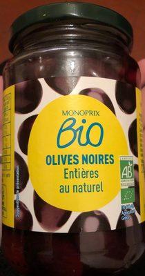 Olives noires entières au naturel - Produit - fr