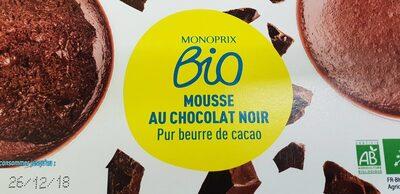 Mousse au chocolat pour beurre de cacao - Produit - fr