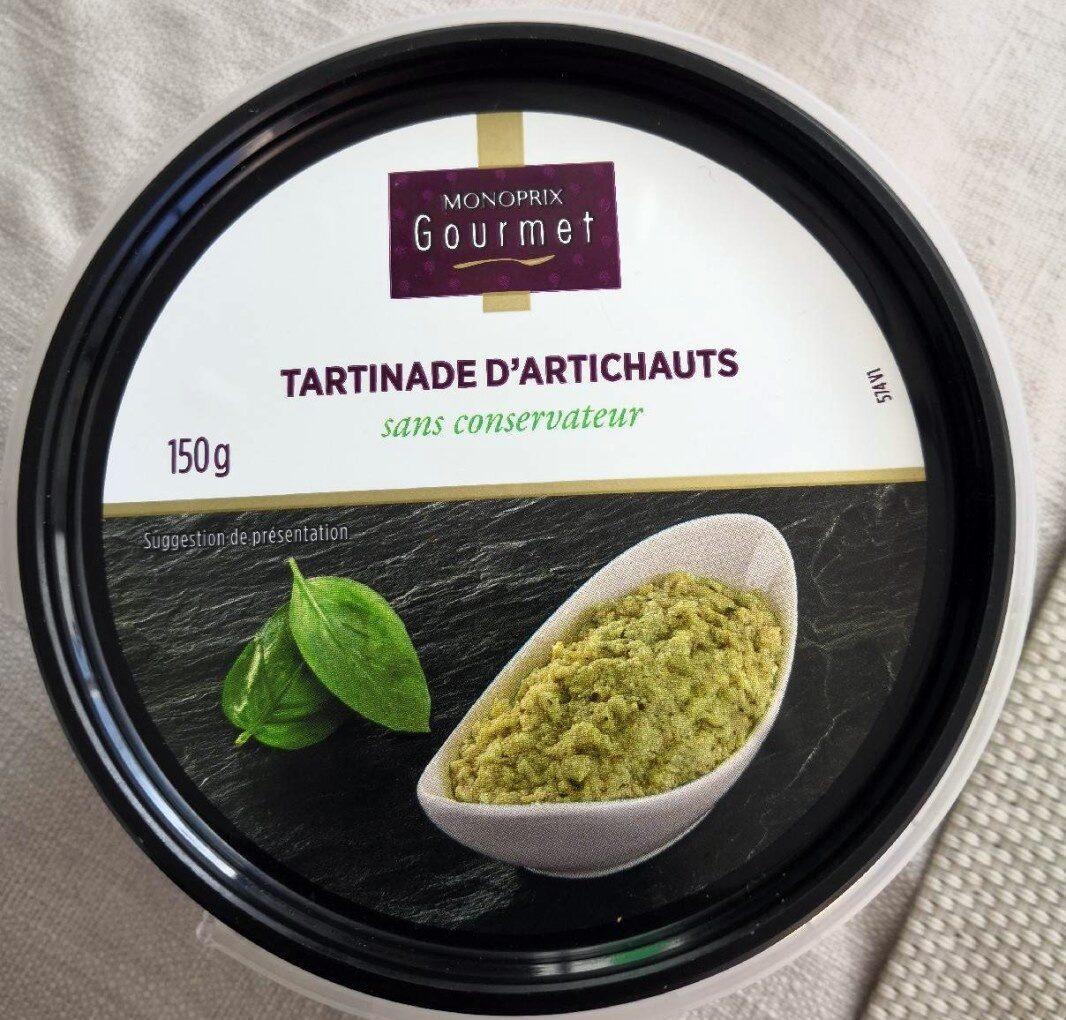 Tartinade d'artichauts - Product - fr
