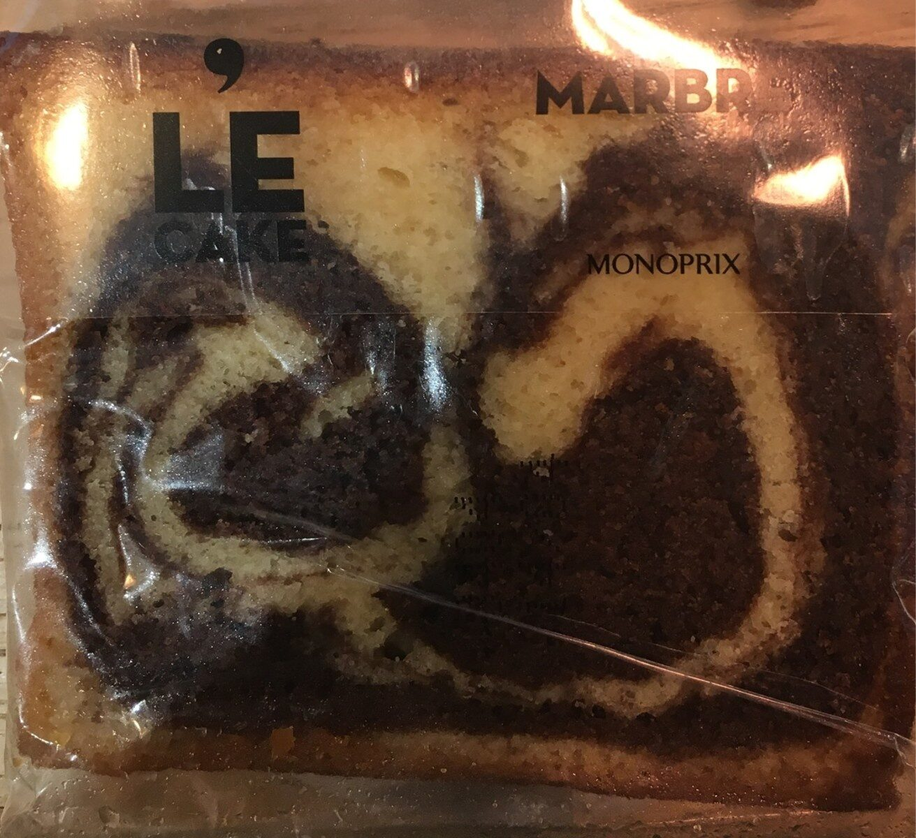 LE CAKE MARBRÉ - Product