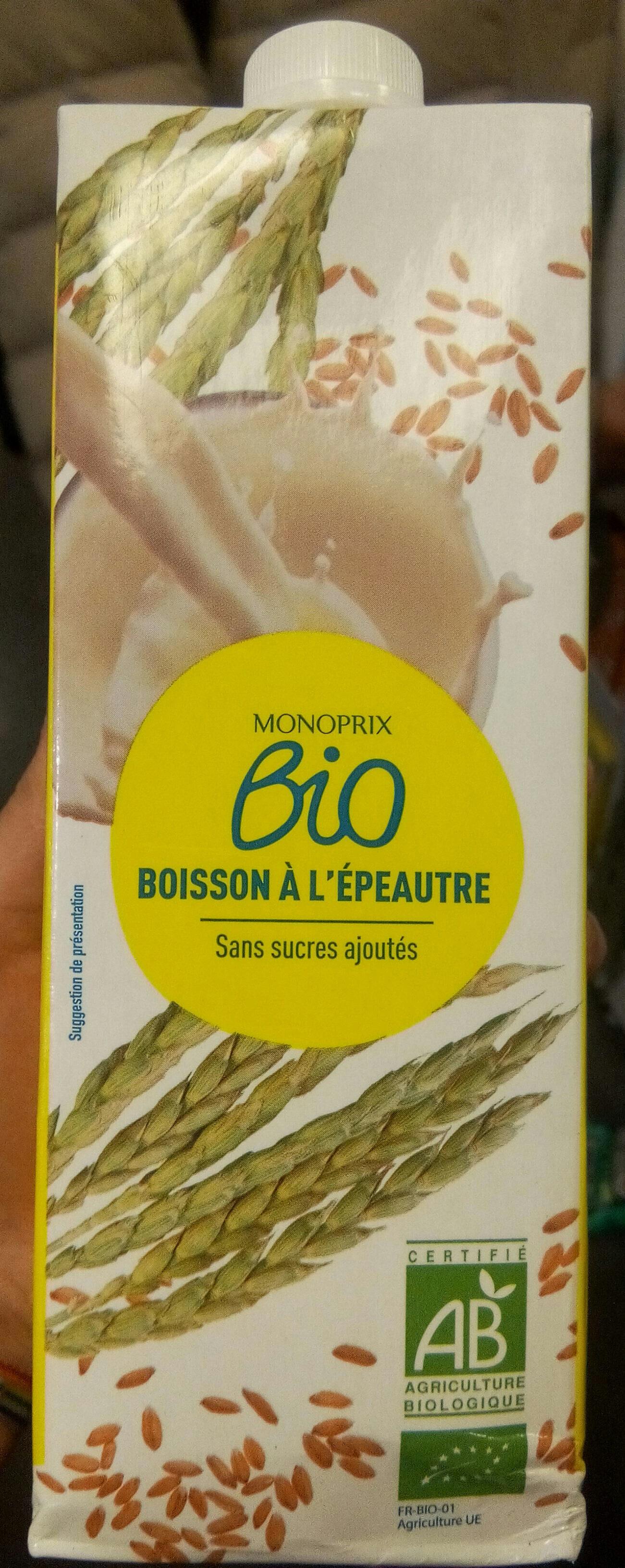Boisson épeautre - Produit - fr