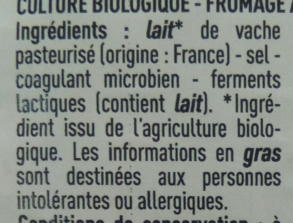 Raclette - Ingredients