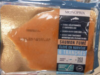 Saumon fumé élevé en Norvège - Product - fr
