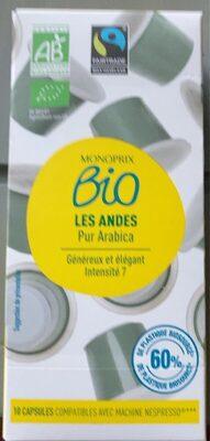 Les Andes Pur Arabica - Prodotto - fr