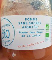 Pommes sans sucres ajoutés - Prodotto - fr