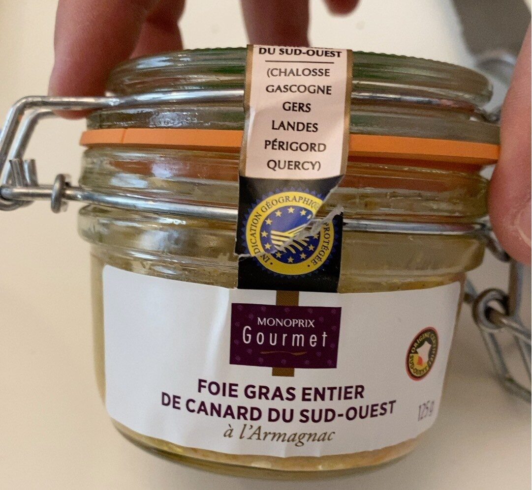 Foie gras de canard - Produit - fr