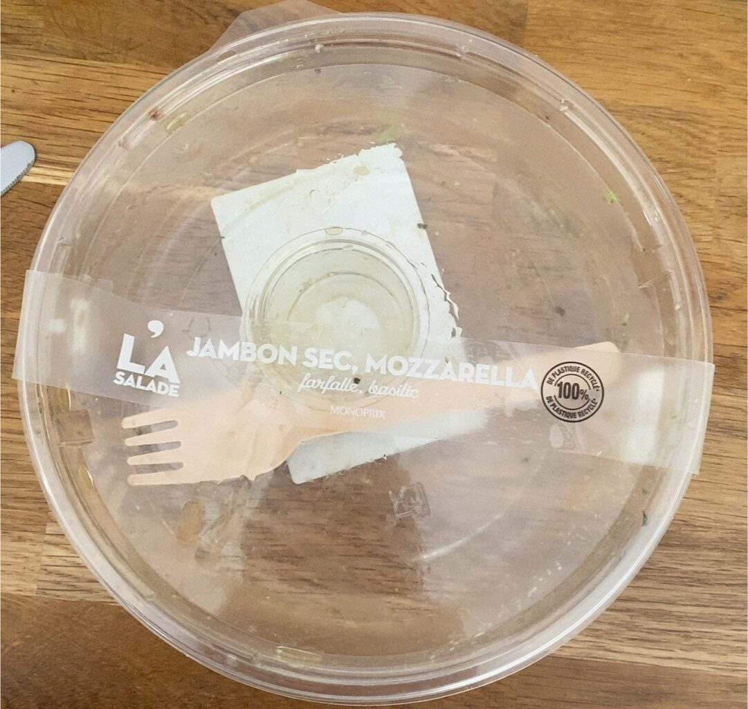Farfalle jambon sec - Product - fr
