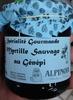 Spécialité gourmande myrtille sauvage au Génépi - Product
