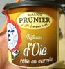 Rillettes d'oie rôtie en marmite - Produit