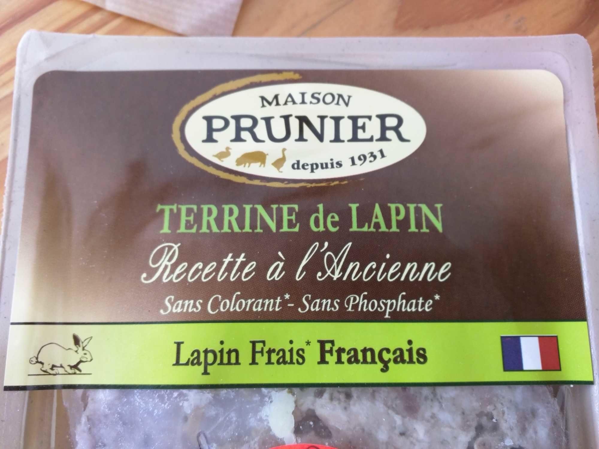 Terrine de Lapin - Recette à l'Ancienne - Produit - fr