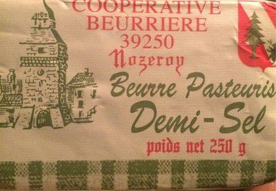 Beurre Pasteurisé Demi-sel - Produit - fr