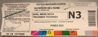 huitre de l'euse - Ingrédients - fr