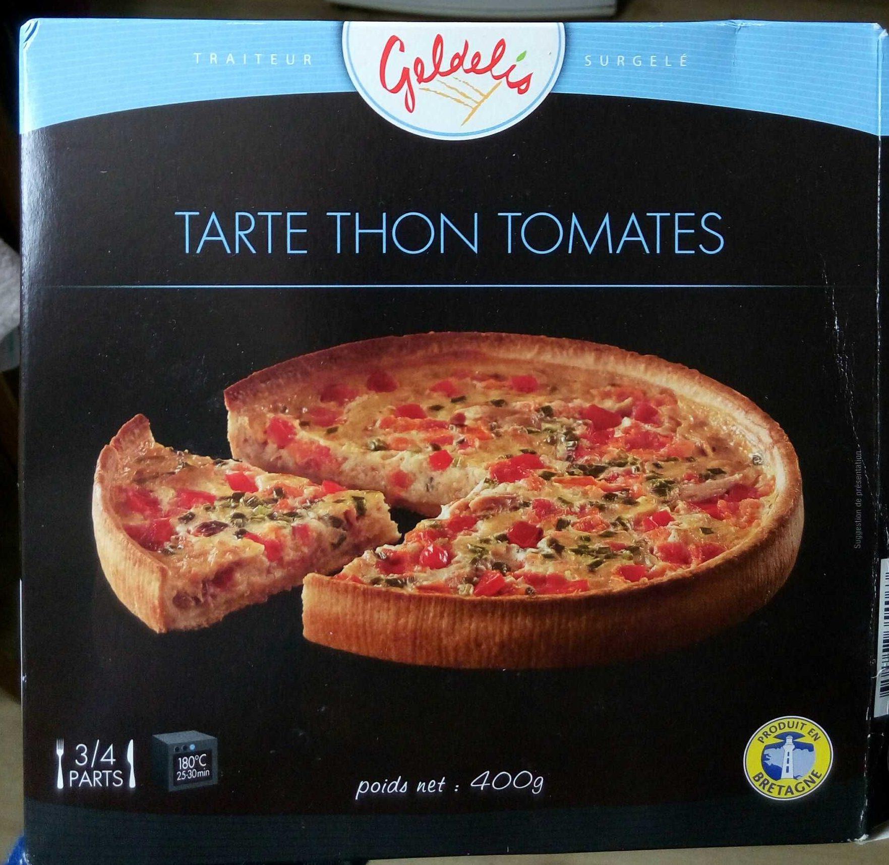 Tarte Thon Tomates - Product - fr