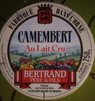 Camembert Au Lait Cru - Product