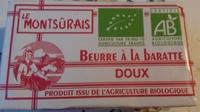 Beurre à la baratte - Produit