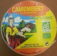 Camembert au lait pasteurisé Bio - Product - fr