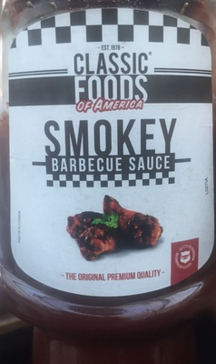 Smokey barbecue sauce - Product