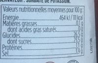 Smokey barbecue sauce - Nutrition facts