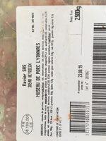 Museau de porc lyonnais - Ingrediënten