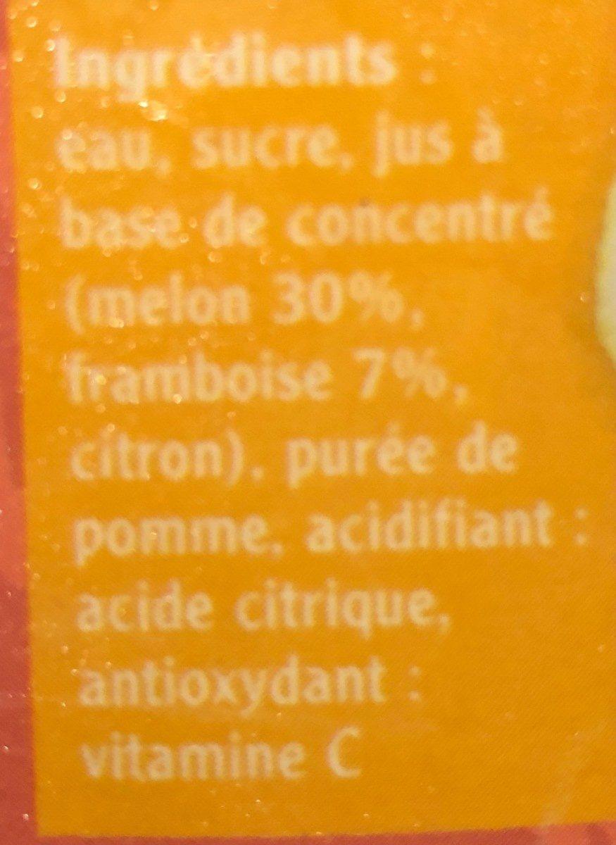 Melon framboise - Ingredients - fr