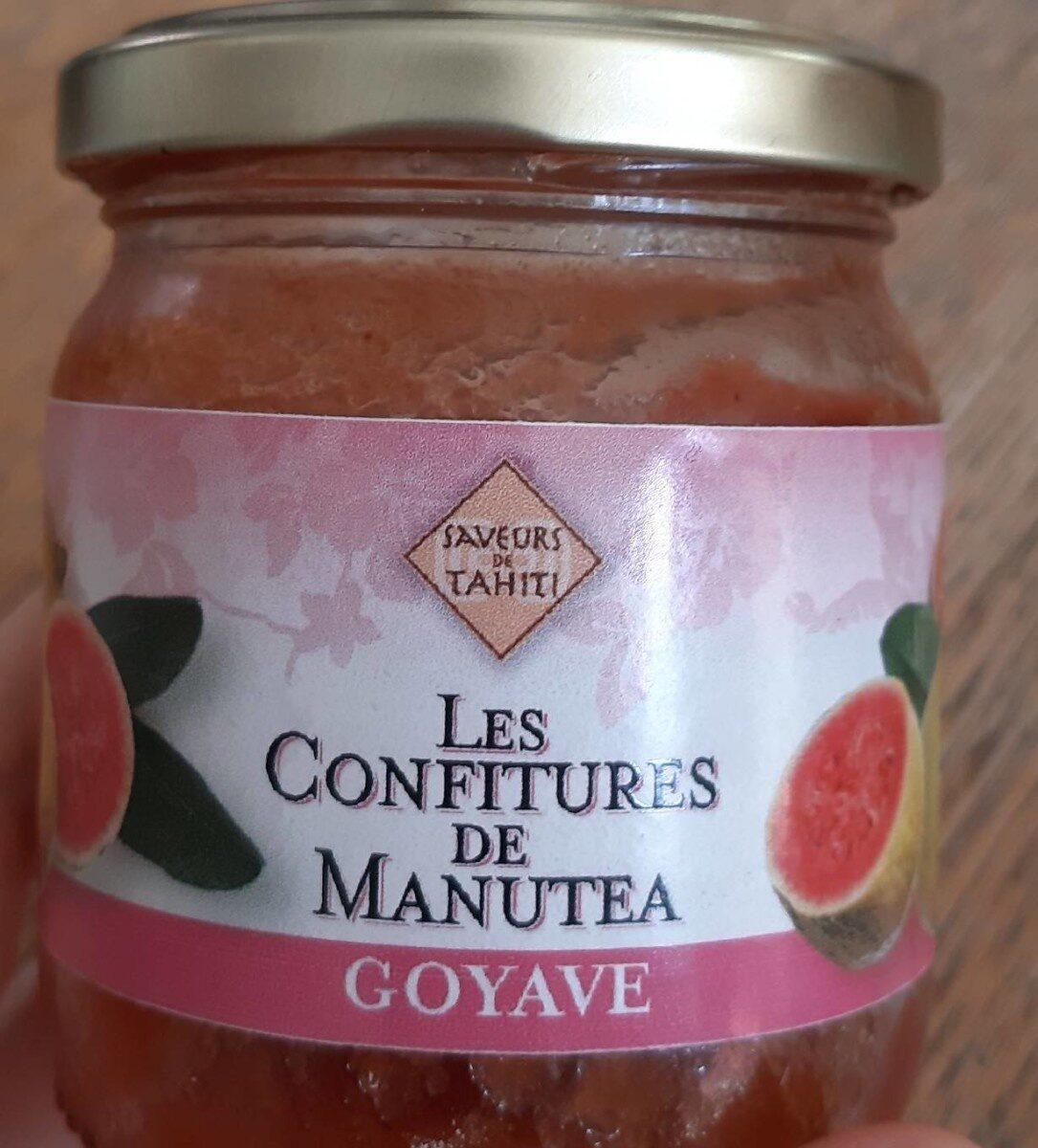 Les confitures de manutea goyave - Product - fr