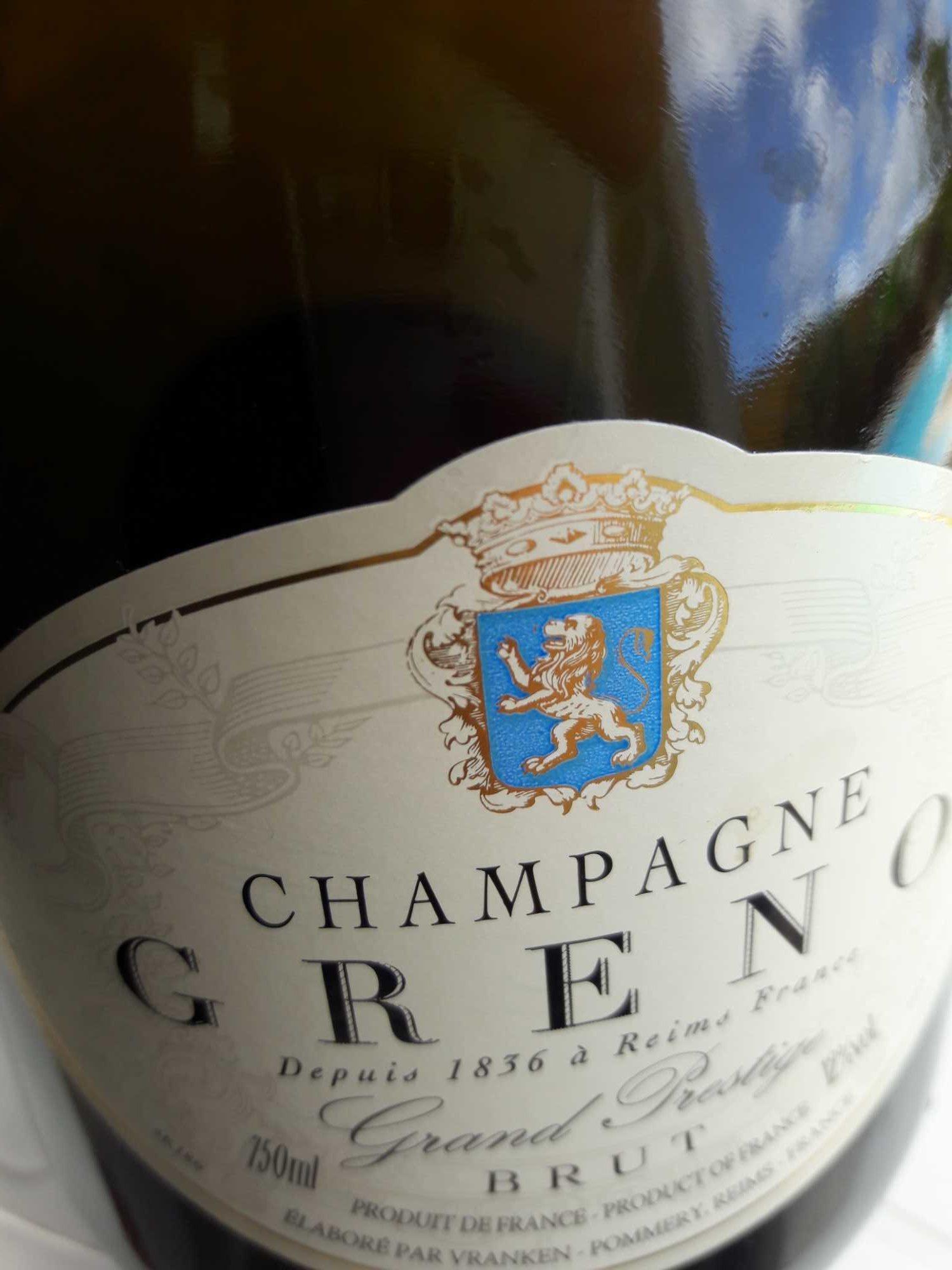 Greno Champagne AOC Greno 12,00% - Produit
