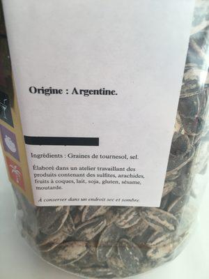 Pipas - Ingrédients - fr