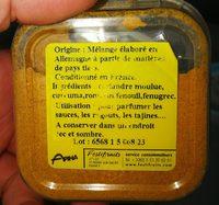Ras el Hanout - Ingredients - fr