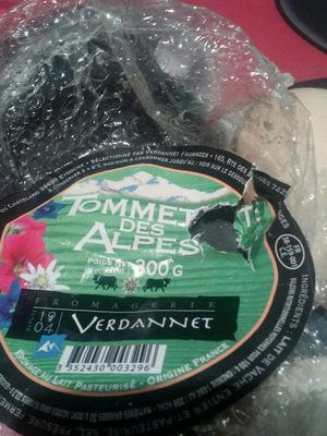 Tommette des Alpes - Ingredients - fr