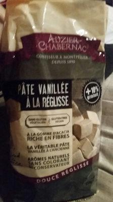 Pate Vanillee a La Reglisse - Product - fr