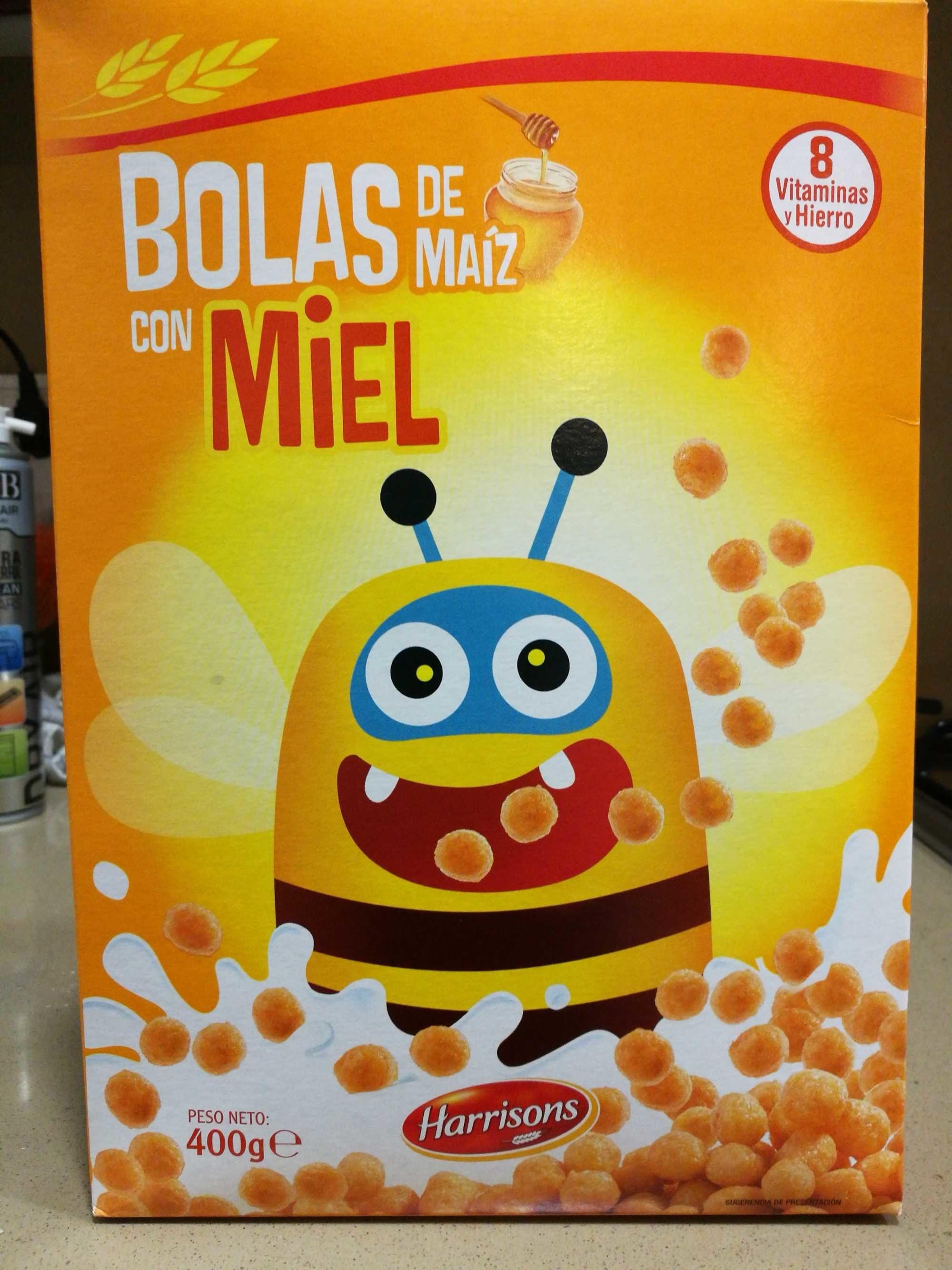 Bolas de maíz con miel - Product