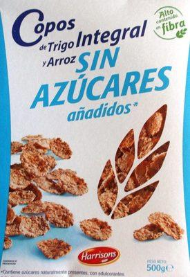 Copos de Trigo Integral y Arroz sin azúcares añadidos - Producte
