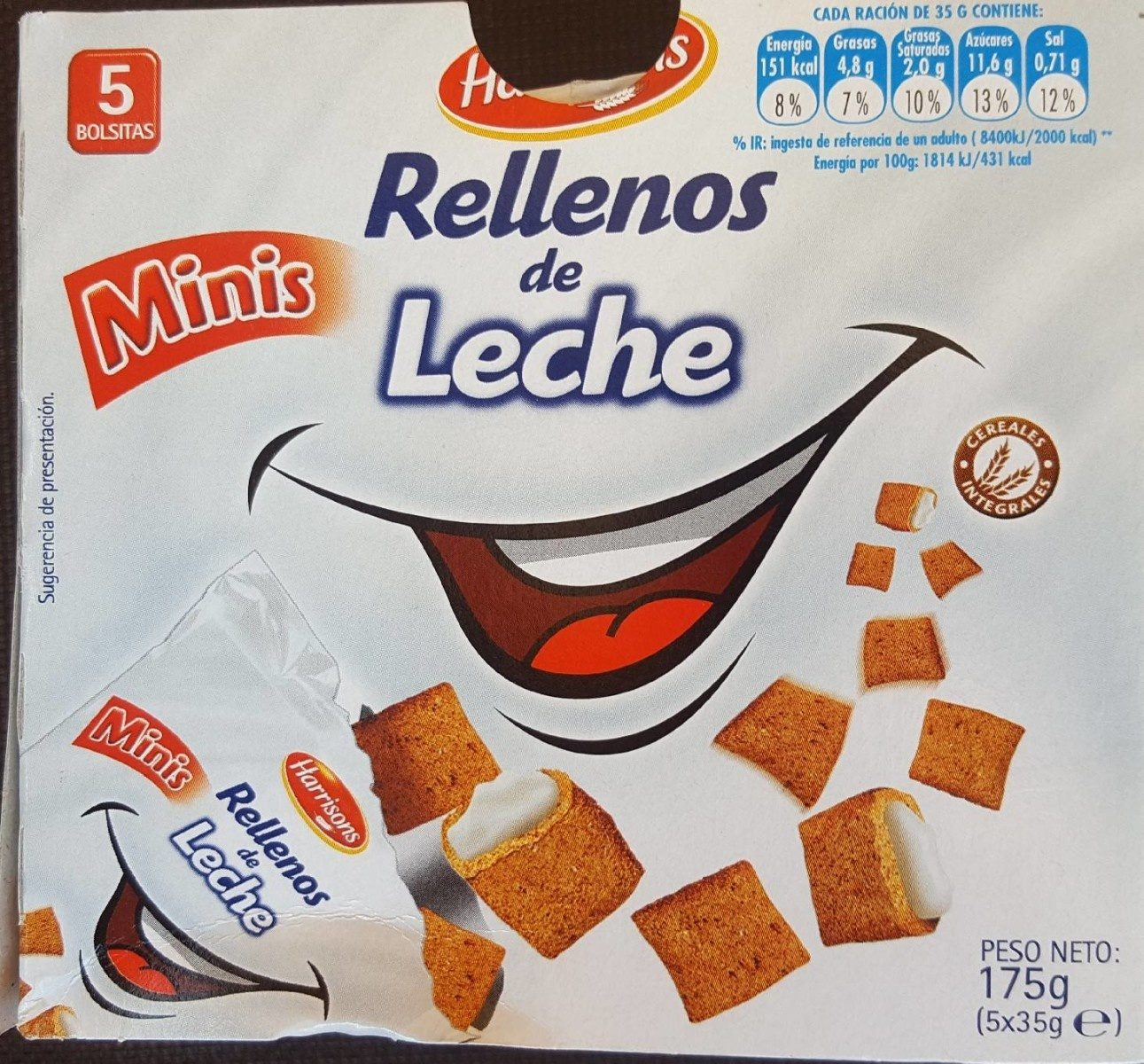 Rellenos de Leche - Produit