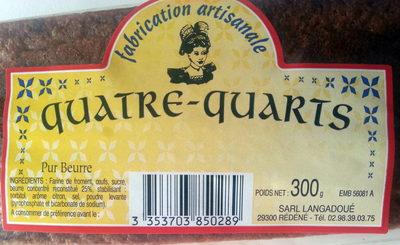 Quatre-Quarts Pur Beurre - Produit - fr