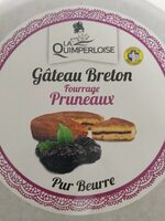 Gâteau breton pruneaux pur beurre CREPERIE DE LANGADOUE - Produit - fr