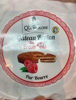 Gâteau breton fourrage framboise - Produit - fr