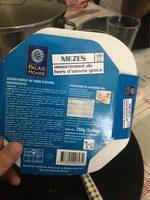 Mezes Assortiment Grecs - Nutrition facts