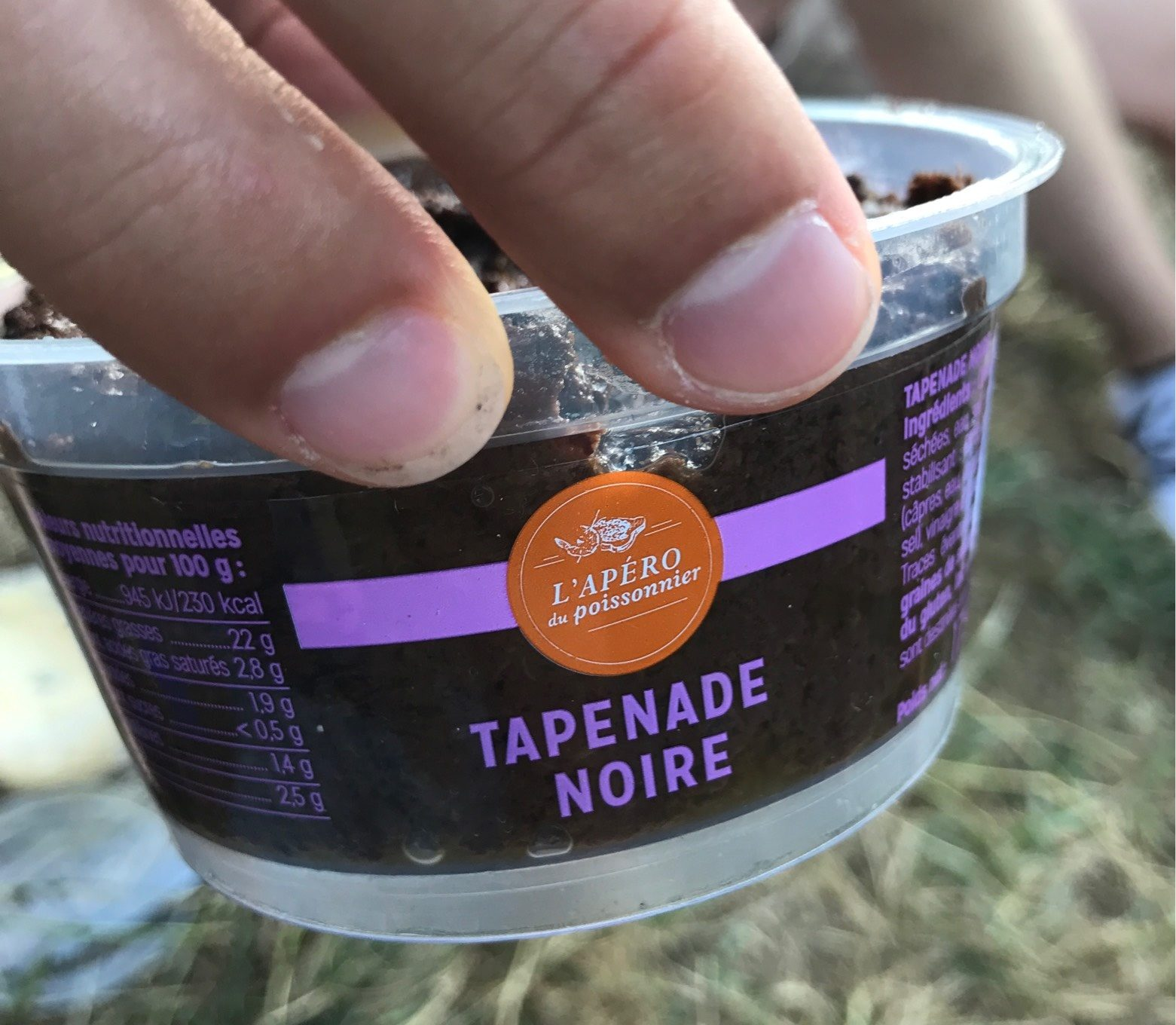 Tapenade noire - Product