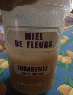 Miel Du Jura - Ingrédients - fr