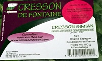 Cresson de Fontaine - Ingrédients