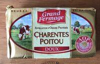 Beurre Doux Plaquette - Product - fr