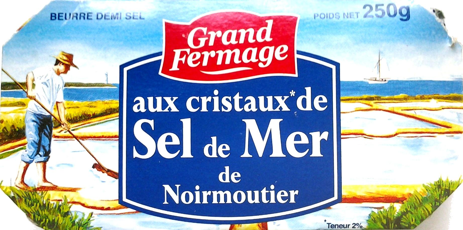 Beurre aux Cristaux de Sel de Mer de Noirmoutier - Produit - fr