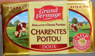 Charentes Poitou Doux AOP (82 % MG) - Product
